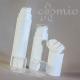 Fehér, airless krémadagoló – karcsú