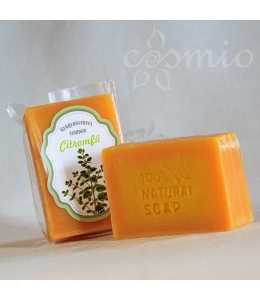 Citromfüves, gyógynövényes, kézműves szappan