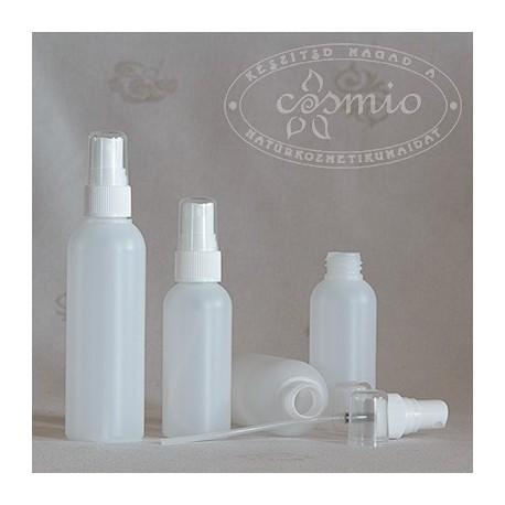 Szórófejes műanyag flakon