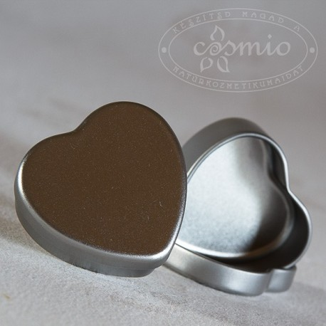 Szív alakú alumínium dobozka