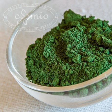 Kozmetikai pigment, zöld