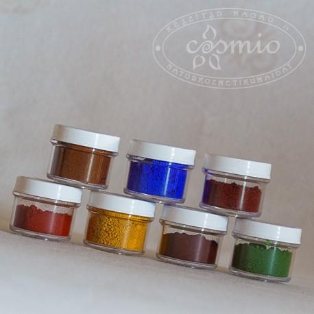 Kozmetikai pigmentek