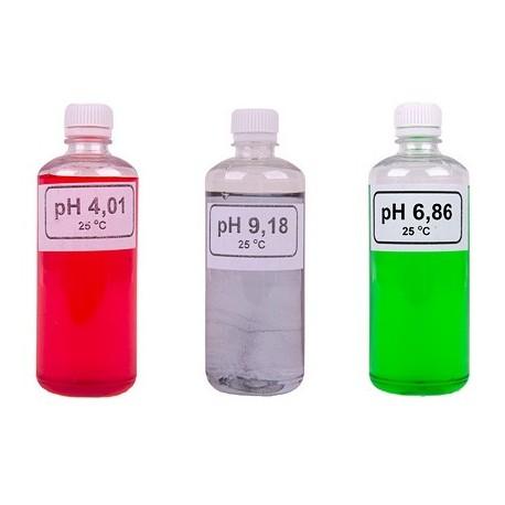 Pufferkészlet digitális pH-mérőhöz